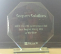 Microsoft smb champion rising star award